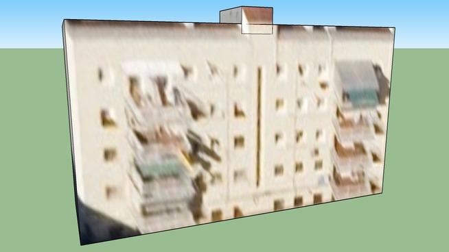 Edificio en Madrid, bloques de pisos