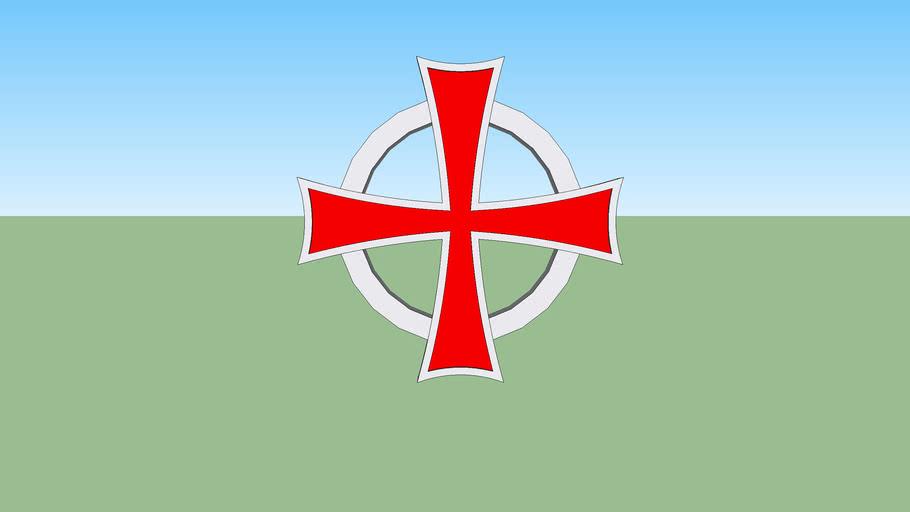 Celtic Templar Cross