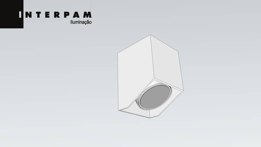01 2276 - PLAFON CUBO 30º