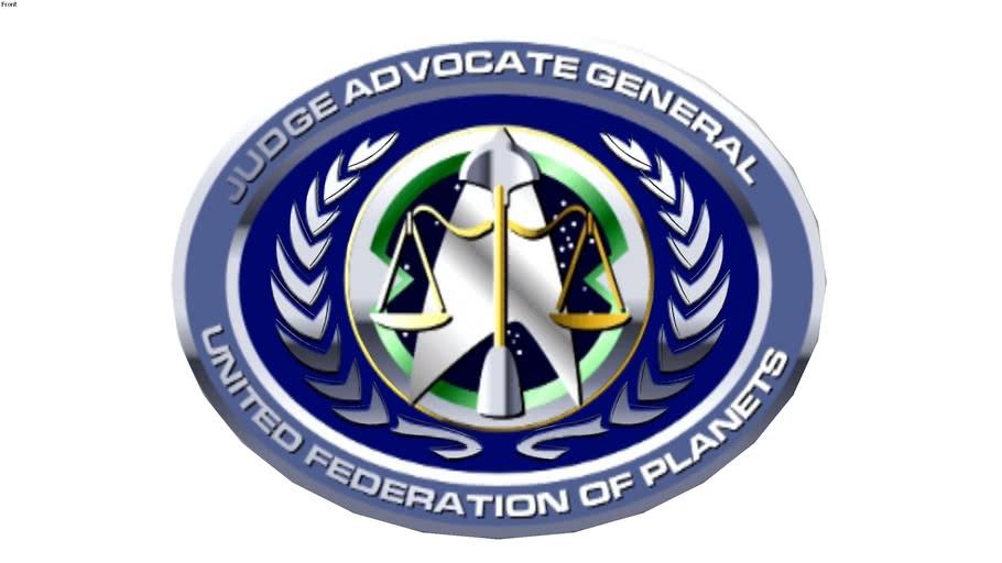 logo Star Trek Starfleet Command JAG Corps