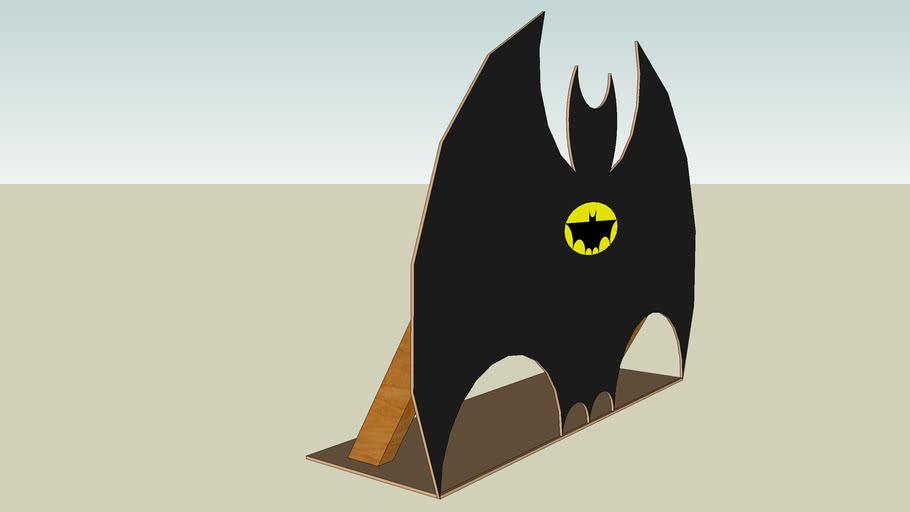 Reclamebord voor een Batman-film