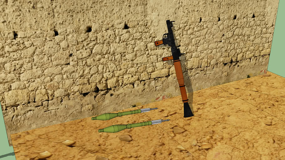 RPG-7 with textures