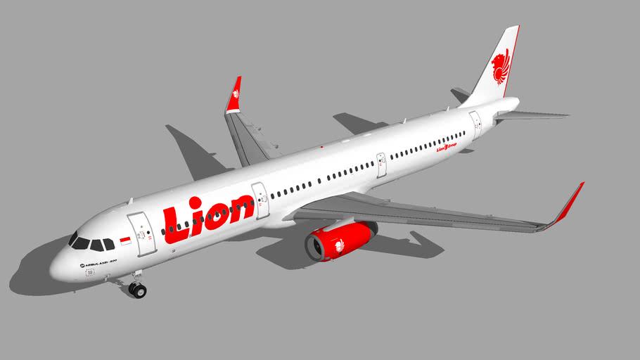 Lion Air Airbus A321-200 9