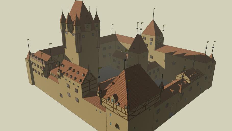 Alte Burg Aschaffenburg (Variante 2)