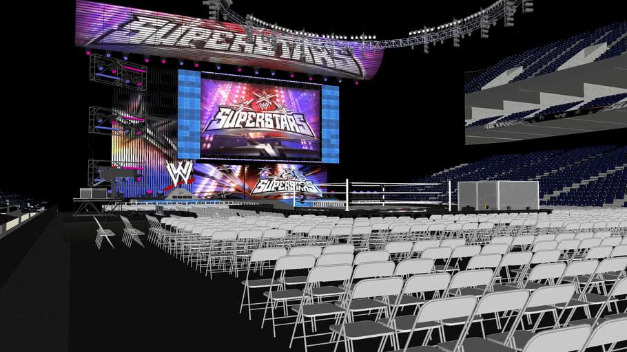 WWE Superstars HD SET 3D Arena