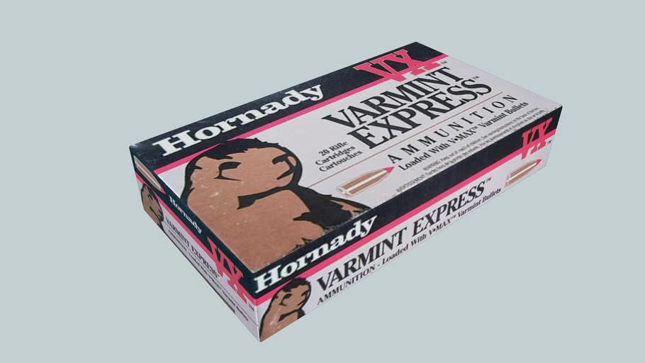 Hornady,Varmit Express ,223 Remington, Ammo box