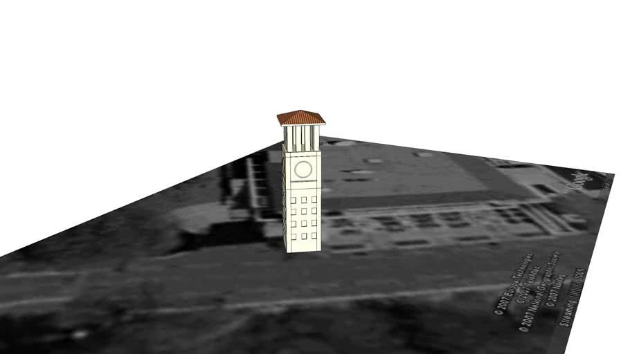 Emory Cox Hall Clocktower