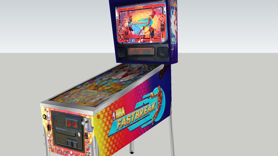 NBA Fastbreak pinball machine