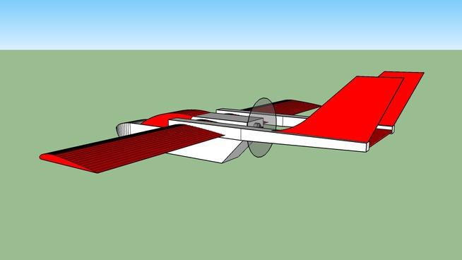 RC cargo plane