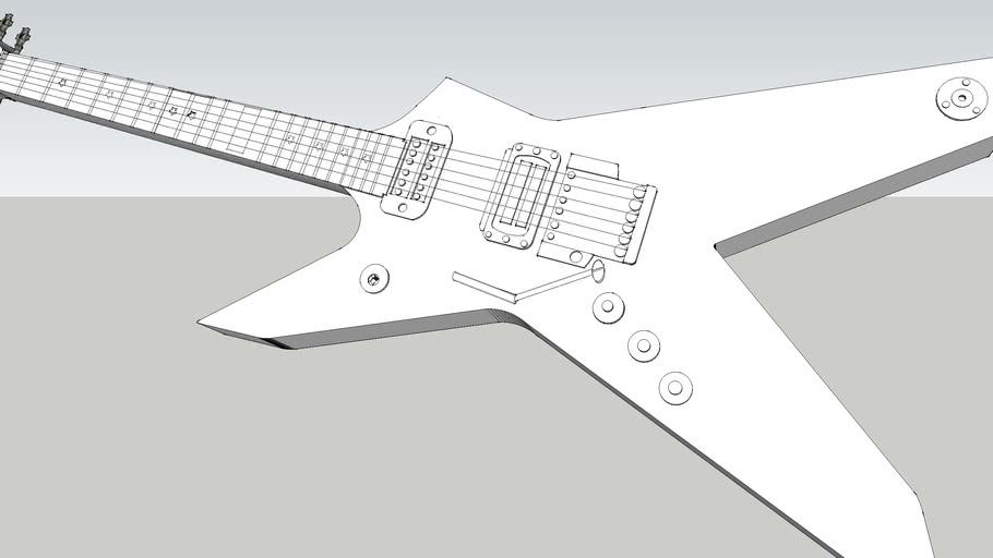 Guitar Heavy Metal Style