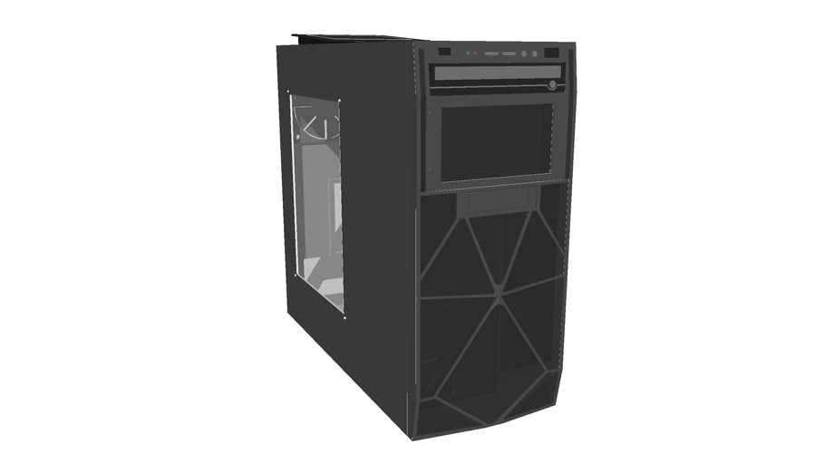 Antec Two hundred gaming case by S.J.