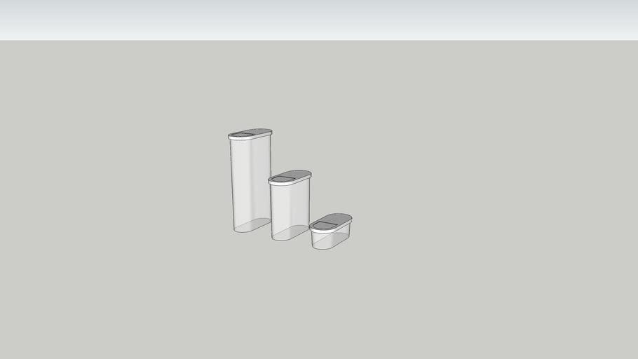 IKEA 365+ ИКЕА/365+ Контейнер, крышка, для сухих продуктов (0,6 л 1,3 л, 2,3 л)
