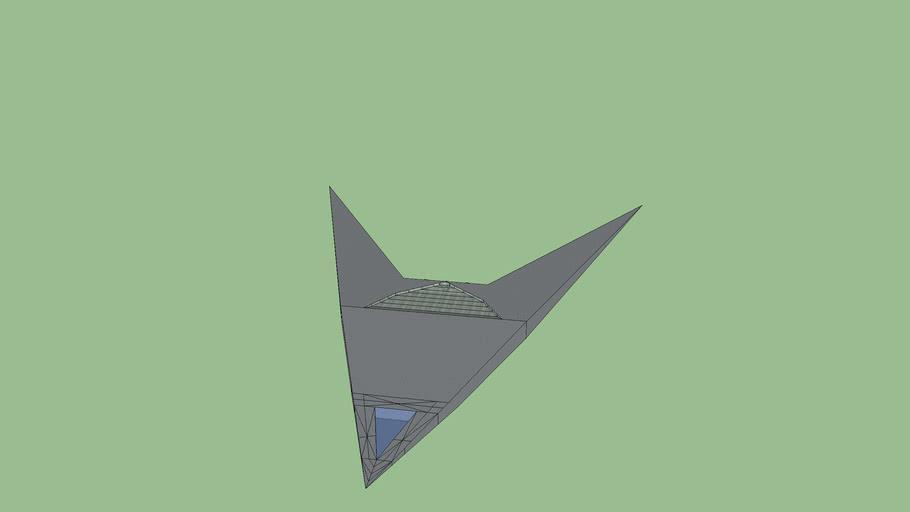Sealth Fighter Jet