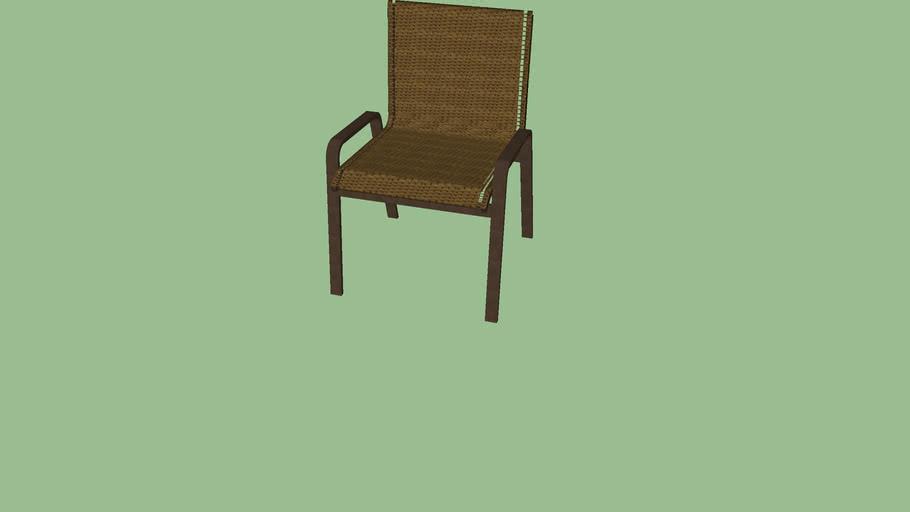 Luna cadeira sem braço