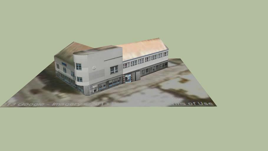 Szlovák takarékpénztár épülete