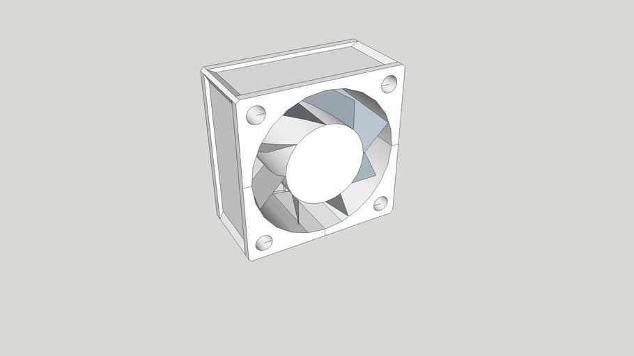 40 mm x 40 mm x 20 mm fan w/32 mm O.C. holes