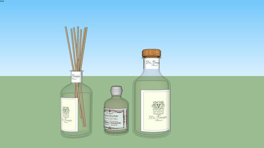 Vaso e aromatizador