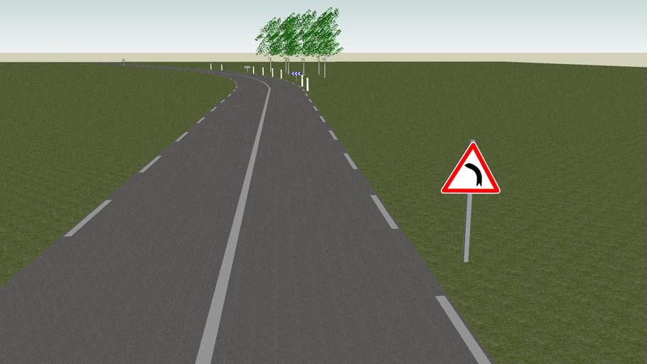 Route - Virage - Classe C