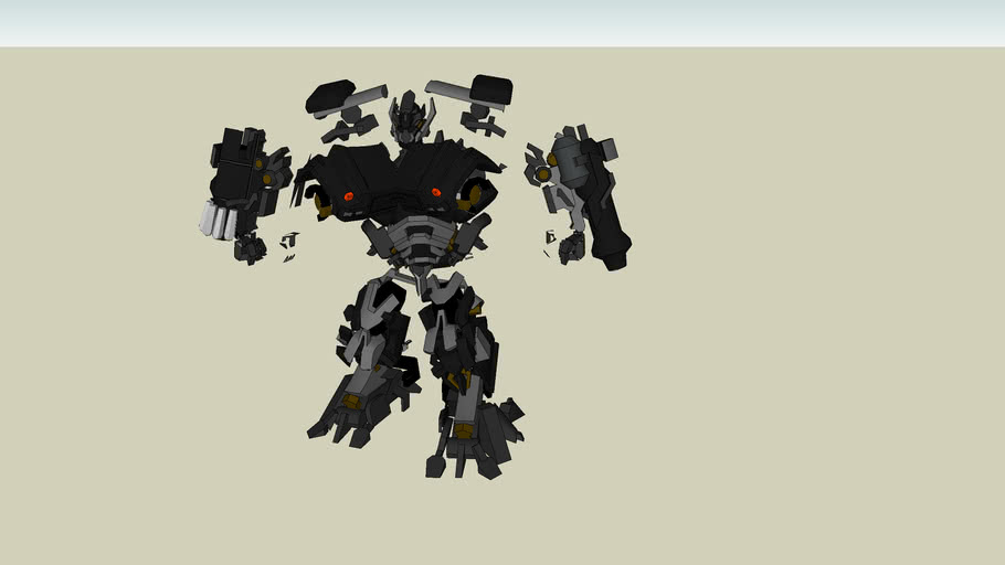 Transformers - Ironhide Kit by BlockMotion™