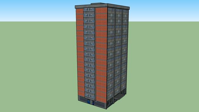 Knežija - Zgrada
