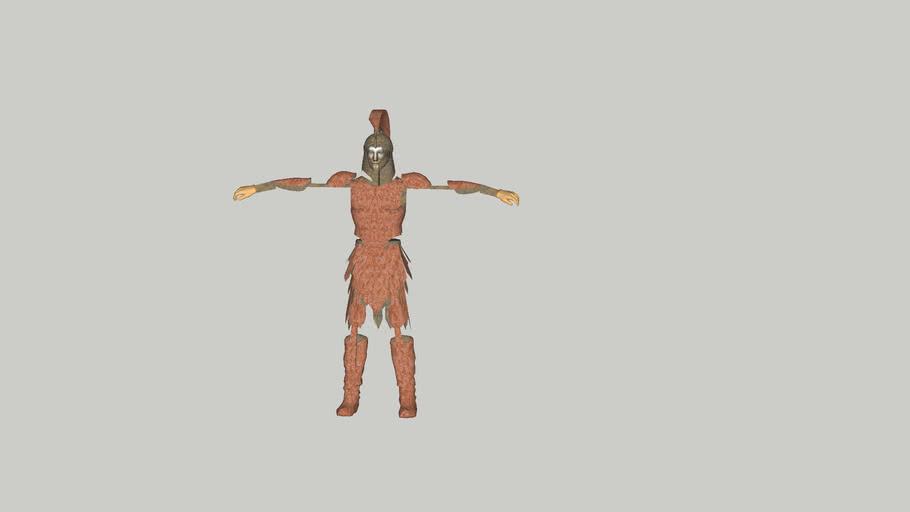 human game character