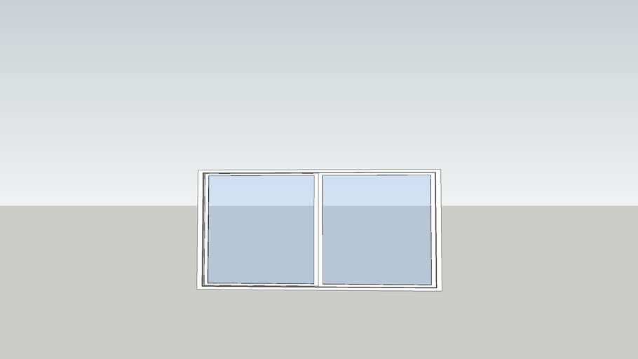 6' Bath Window
