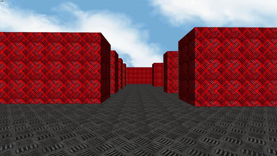 Metal Maze - Sketchup 7.