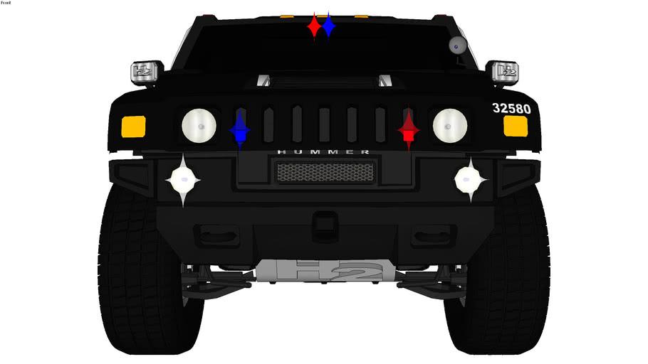Hummer H2 Police 32580