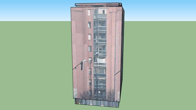 zgrada na Novom Naselju,Novi Sad 2