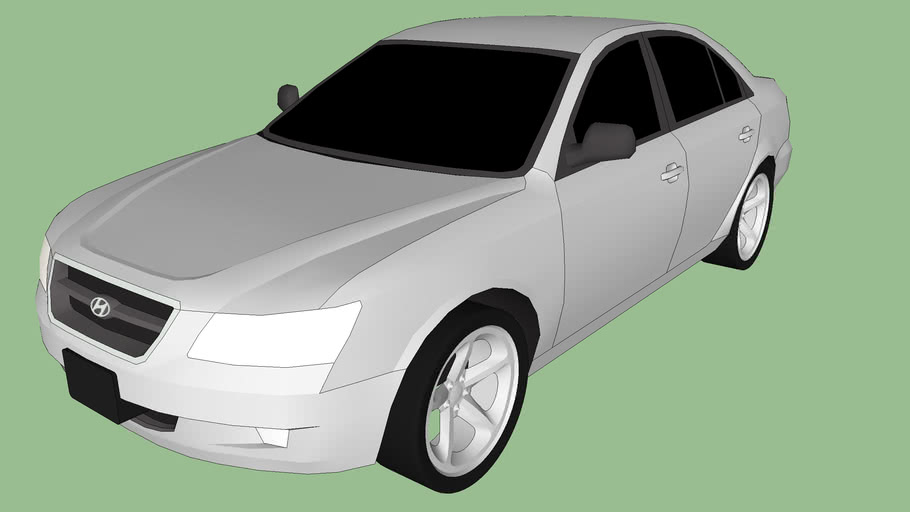 Hyundai Sonata NF modified