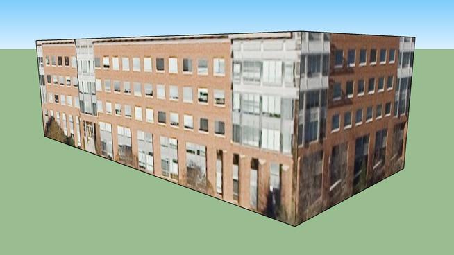 Bâtiment situé Raleigh, Caroline du Nord, États-Unis