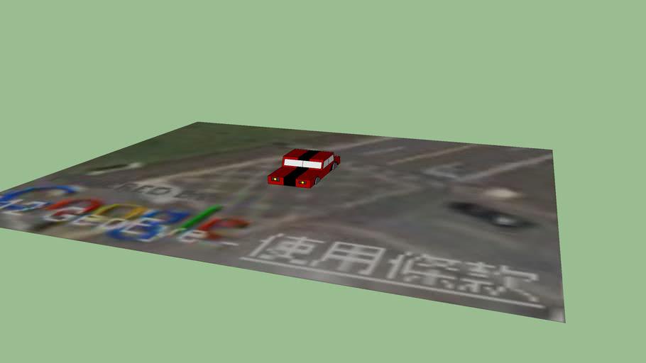 car in front of school
