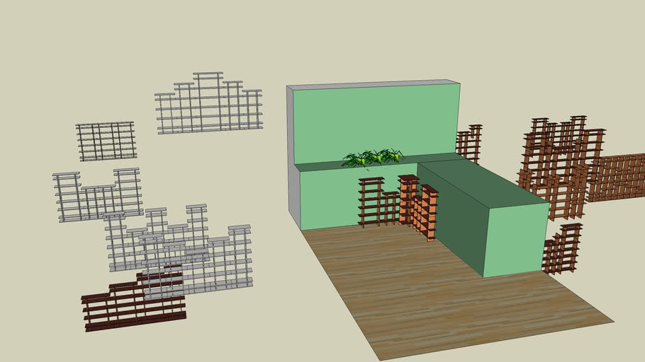 Alex Lee Sketchup Drawing