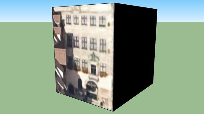 Edificio in Norimberga, Germania