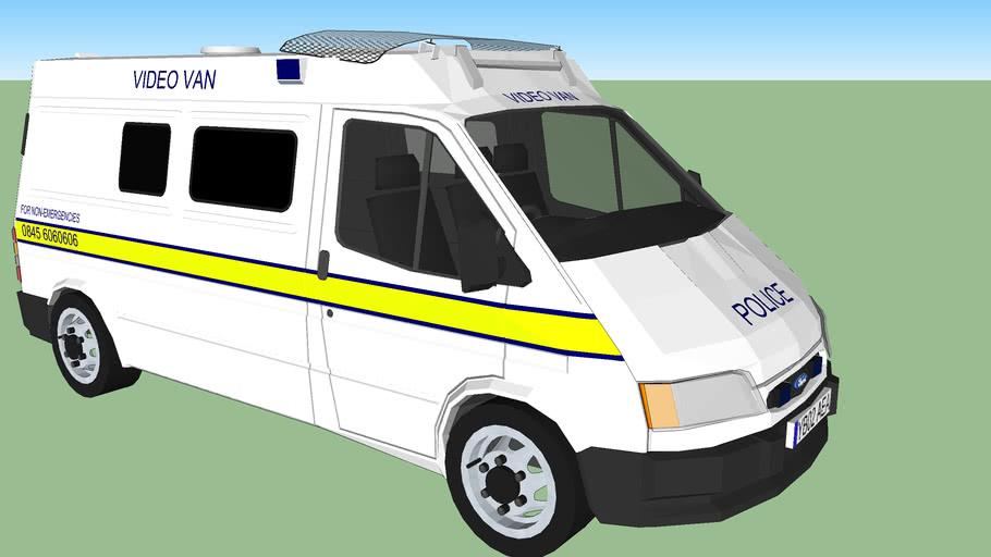 West Yorkshire Police Ford Transit Public Order Van, Updated