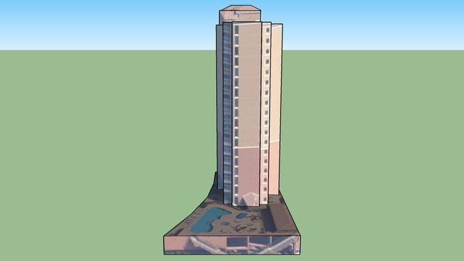 Building in Pensacola Beach, FL, USA