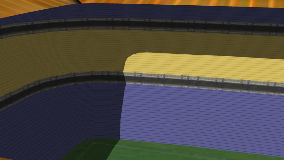 Nuevo Estadio Albeto J. Armando.