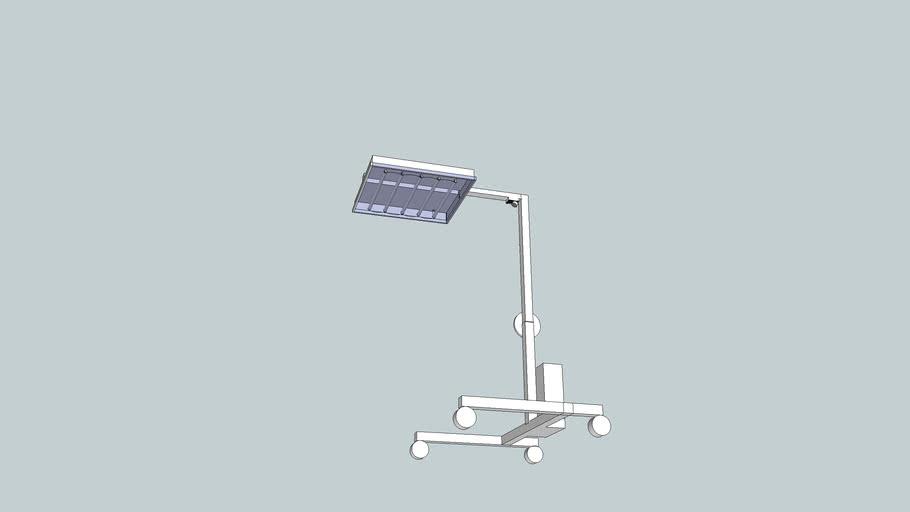 Infra heater lamp