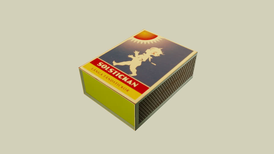 Swedish Match Box