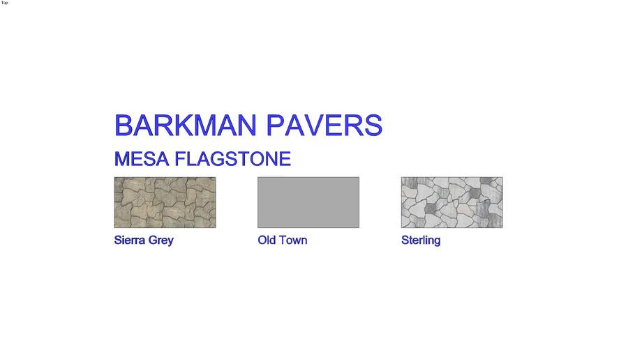 Barkman Mesa Flagstone Pavers