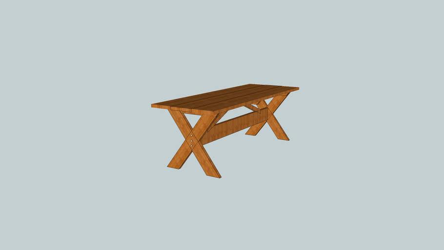 mesa maciça