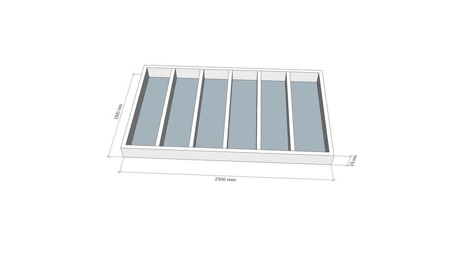 Base Frame 2.5m x 1.5m LAE