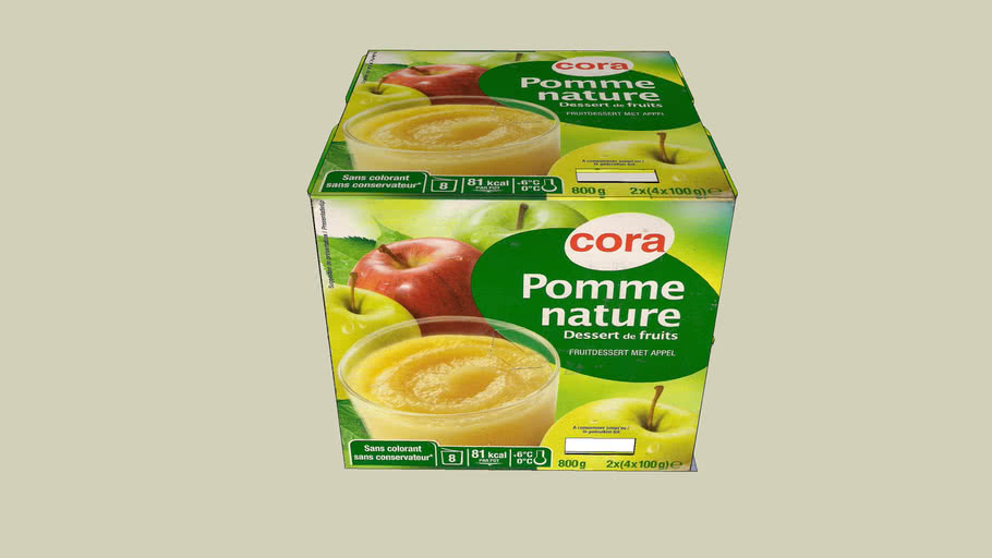 Compote pomme Cora