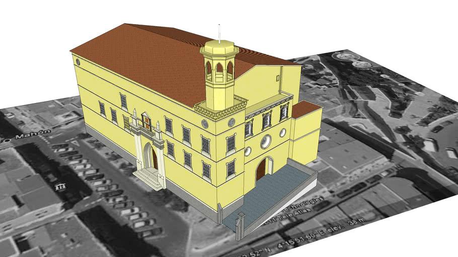 Iglesia De Santa María De Mahón 3d Warehouse