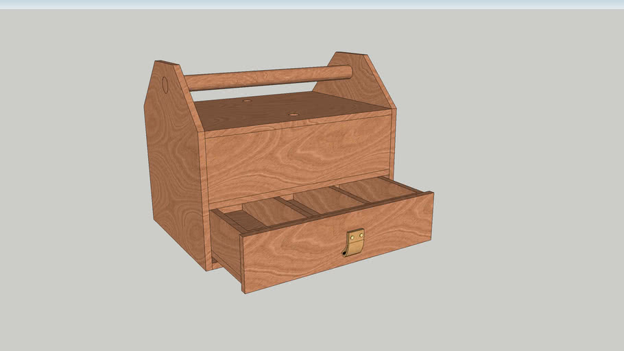 Toolbox with draw