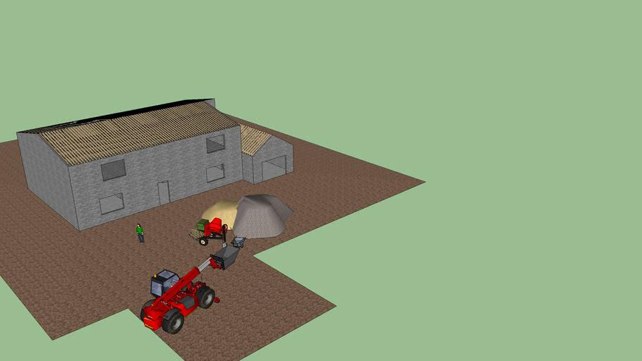 maison en fin de chantier