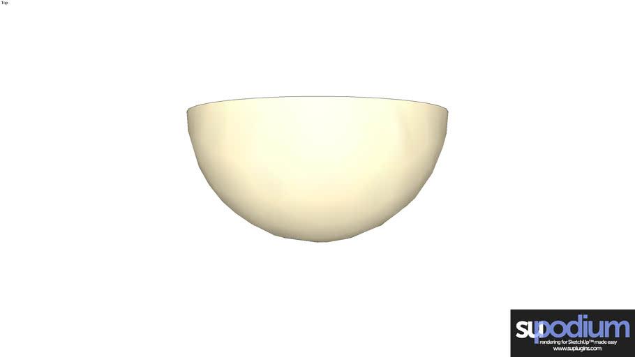 Podium Browser Alabaster cb3034 WA light fixture