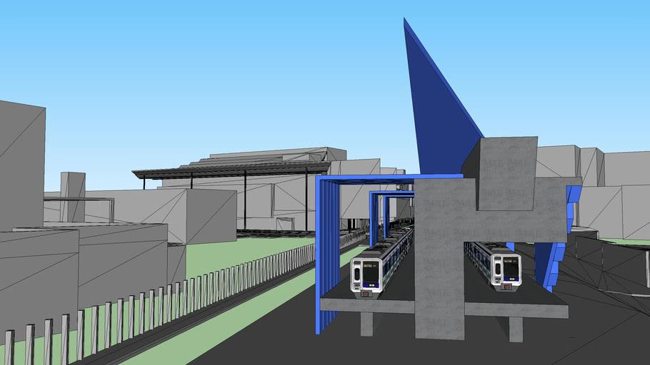 train station(unsw)