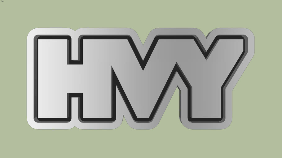 HVY Logo (GTA) | 3D Warehouse