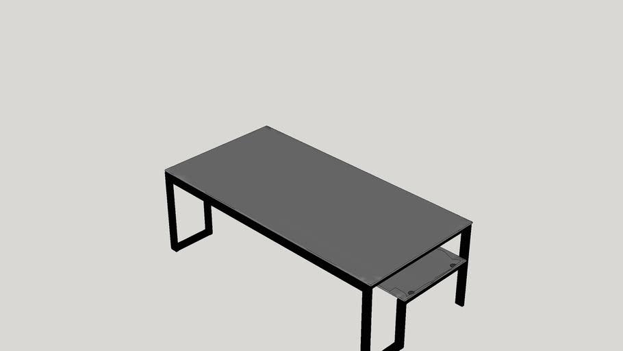 Scheider Stacked Shelf Coffee Table